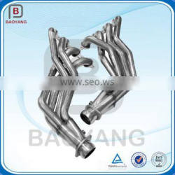Casting and welding stainless steel exhaust pipe