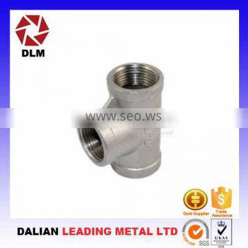 Fabrication services OEM customized cast iron pipe fittings foundry