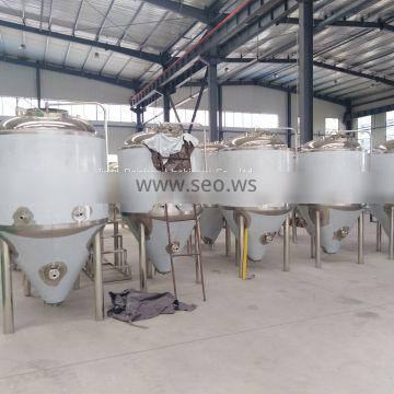 beer brewing equipment, conical fermenter for brewery