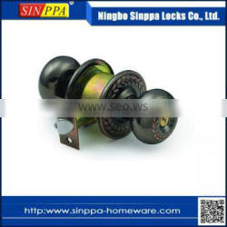5798 Cylindrical Carving High Security Door Lock
