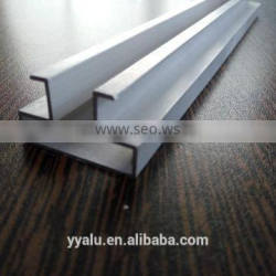 aluminum profile for store fixtures slatwall profile display from china factory