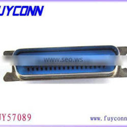 90 Degree PCB DIP Centronics Connector 36 Pin Male MD Shell