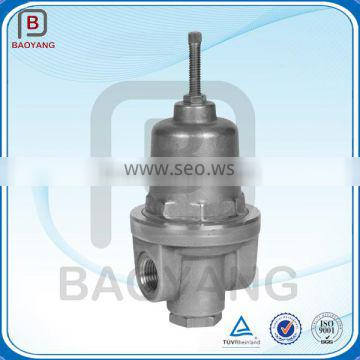 Custom self regulating pressure control valve parts