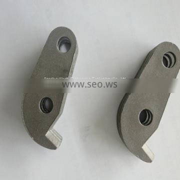 custom-made gray iron sand casting spare parts for belt pulley