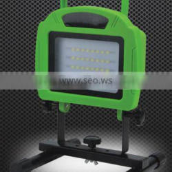 rechargeable battery powered portable led 12 v working light
