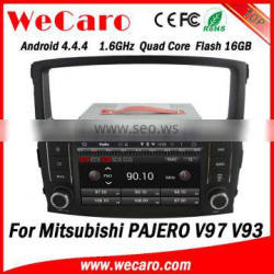 "Wecaro 7"" Android 4.4.4 radio gps 2 din car dvd player for mitsubishi pajero audio system car stereo 2006 - 2011"