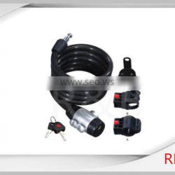 RL-2435 steel cable lock with dust-cover