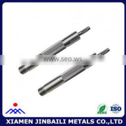 Stainless steel short parallel knurled pin
