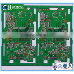 Immersion gold surface treatment 4 layers pcb panel