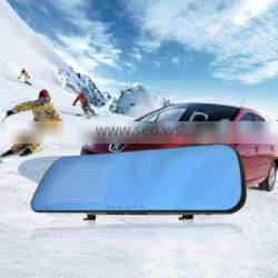 2015 Economic gps bluetooth camera car/bus rearview mirror ,car dvr rearview mirror for android