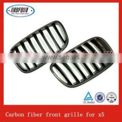 2003-2007 Carbon fiber car grill front auto grille for X5 F15