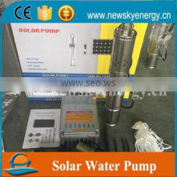 Solar Powered Submersible Deep Water Well Pump