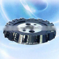Indexable stepped face mill kr75
