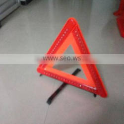 folding emergency triangle for safety