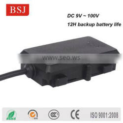 smart gps tracker BSJ-K9 with recharge battery work on car motorcycle
