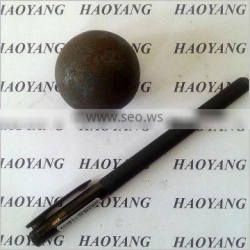 Forged steel grinding media balls for mining ball mill