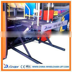 Vehicle Scissor Wheelchair Lifts Power Wheelchair Lifts for bus with CE certificate