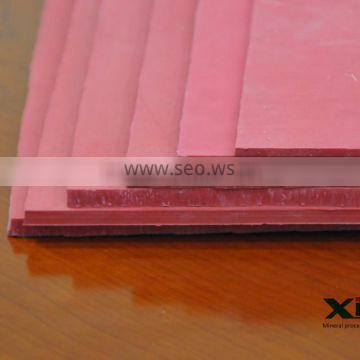 Red Heat Resistant Natural Rubber Sheet / Rubber Roll