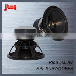 """Competition speakers subwoofer for JLD audio with 4pcs magnet motor subwoofer spl Rms 5000w 10"""" 12"""" 15"""" 18"""" subwoofer"""