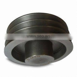 SPZ SPA SPB SPC round pulley belt groove round retractable pulley stainless steel casting pulley belt