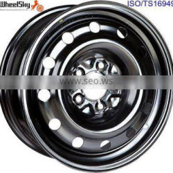 16inch Steel Rim 16x6.5 5x114.3 for Passenger Car