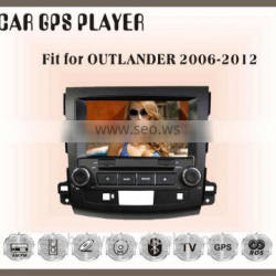 Fit for mitsubishi outlander 2006-2013 car dvd touch screen gps