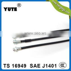 "yute brand high quality fmvss 106 sae j14011/8"" hl hydraulic brake hose with assembly"