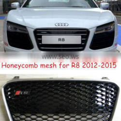 New arrival!!! facelift mesh R8 grille for Audi R8 2012-2014