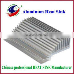 Extruded electronic heat sink