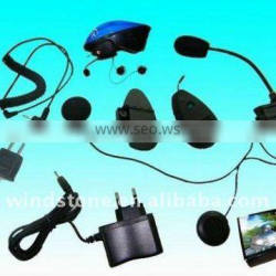 Bluetooth Motorcycle Helmet Headset 500M Interphone with FM for Bike