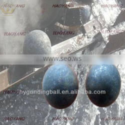 55-60HRC 125mm steel grinding balls for the gold mining