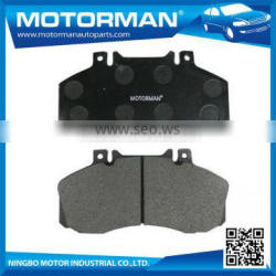 MOTORMAN Fully Stocked OEM all type available Semi-metallic brake pad D1062-7968 for HINO 145/165/185