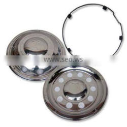Stainless Steel wheel cover truck Hjulkapsel 22.5 wheel trim