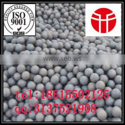 Jinan entered in the production of high quality more types of 30 mm forged steel ball used in steel mill grinding steel slag