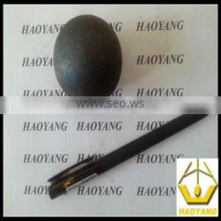 high quality dia 80mm forged grinding media mill balls