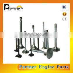 Quality assurance 13711-60021 13715-60032 2F inlet and exhaust valve for Toyota