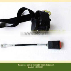 Retractor automatic two point seat belt