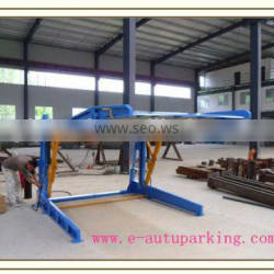 hydraulic mini tilting double parking car lift for home garage Quality Choice