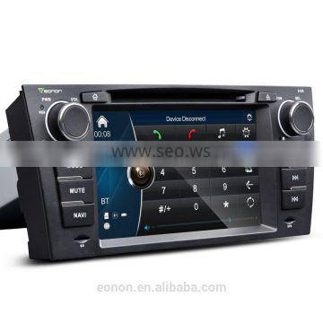 "EONON D5165X 7"" Digital Touch Screen Car DVD Player with Built-in GPS For BMW E90/91/92/93"