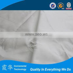 White filter cloth for cement plant