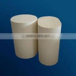High flow Cylinder and Race shape diesel engine exhaust ceramic catalyst
