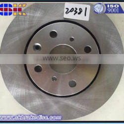 Brake Discs with highly competitive perfect surface treatment