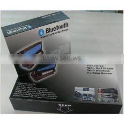 Bluetooth Stereo Handsfree With MP3 Player and parking sensor BT-868C4 (New model)