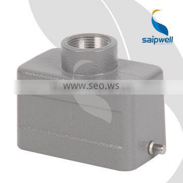 SAIPWELL China Wholesale Top Entry Hoods Heavy Duty Inductrial Connector