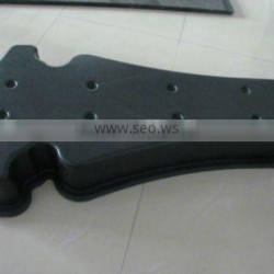 customized vacuum formed blister thermoforming plastic cover for light boxes