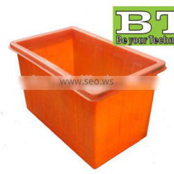 square plastic drum molded liquid storage container