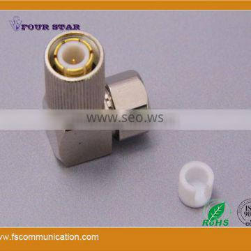 1.6/5.6 Male Clamp Right Angle Connector For BT3002 Cable B