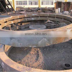Factory price forged kiln tyre for rotary steel casting foundry in China