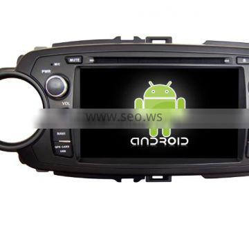 Kaier.Quad core car DVD player navigation for Toyota Yaris