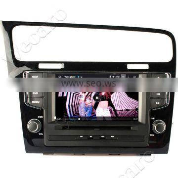 "Wecaro 7"" WC-7003 Android 4.4.4 car multimedia system double din for vw golf 7 car multimedia 2013 WIFI 3G bluetooth"